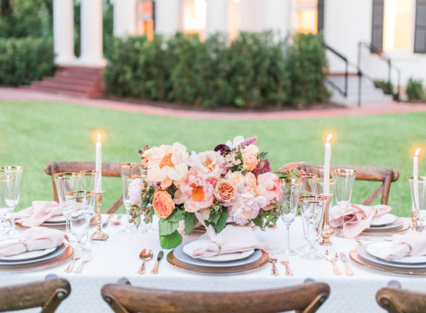 woodbine mansion event venue outdoor table